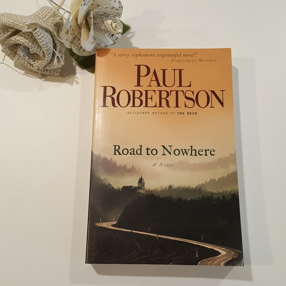 Road to Nowhere Suspense Mystery Novel Book NEW